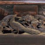 孔雀と牡丹(御影堂)