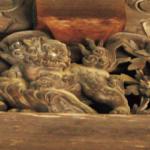 牡丹と唐獅子(御影堂)