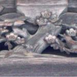 梅と鶯(御影堂)